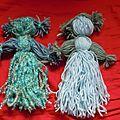 Tuto photo - atelier pour enfant : les poupée en laine