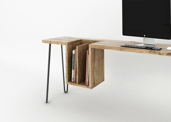 Le bureau de ehoeho studio sonia saelens d co for Bureau design 1 m