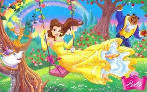 Belle princesse disney