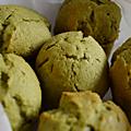 Muffin(nelé)s au thé vert matcha !