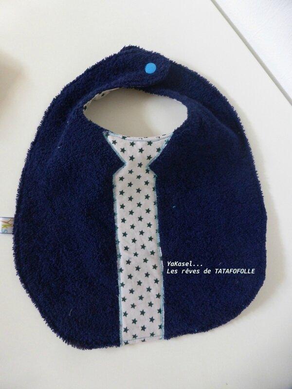 bavoir cravate etoile YKS