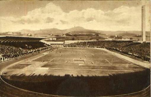 1950 Florence Stade Giovanni Berta