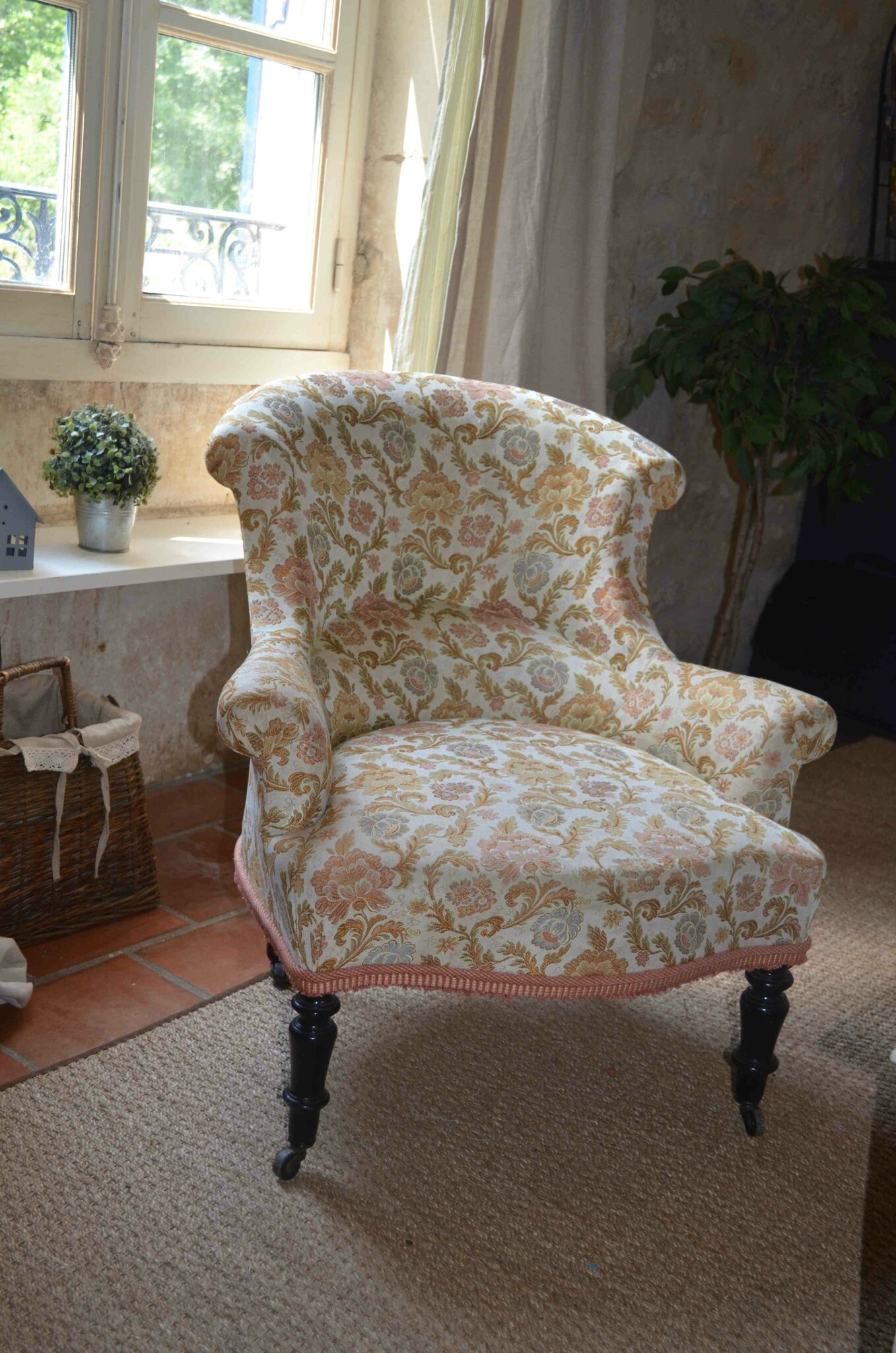 J 39 habille mon fauteuil little something - Housse fauteuil crapaud ...