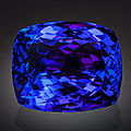 Very fine gemstone: large tanzanite - 61.43 ct. merelani hills, umba valley, lelatema mountains, arusha region, tanzania
