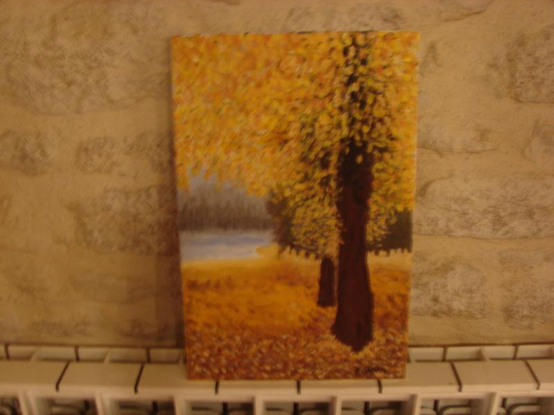 Ciel peinture acrylique et spatule petits moments de vie for Peinture a la spatule