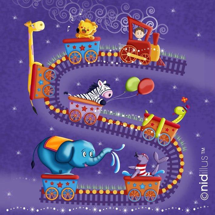train circus nidillus 72