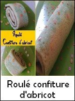 index roulé confiture d'abricot