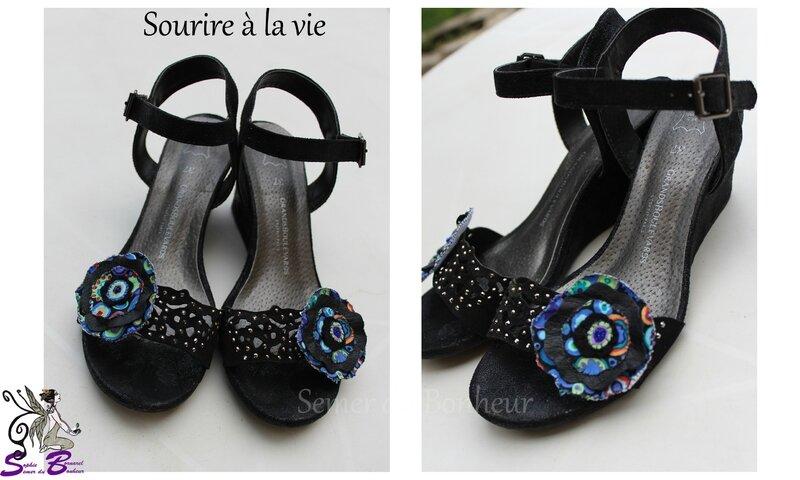 chaussures sourire à la vie