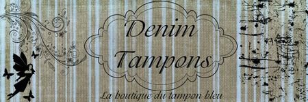 logo Denim Tampons