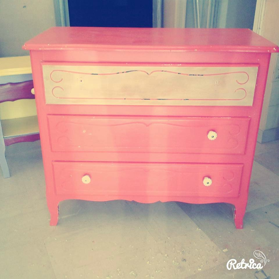 Transformation d'une commode