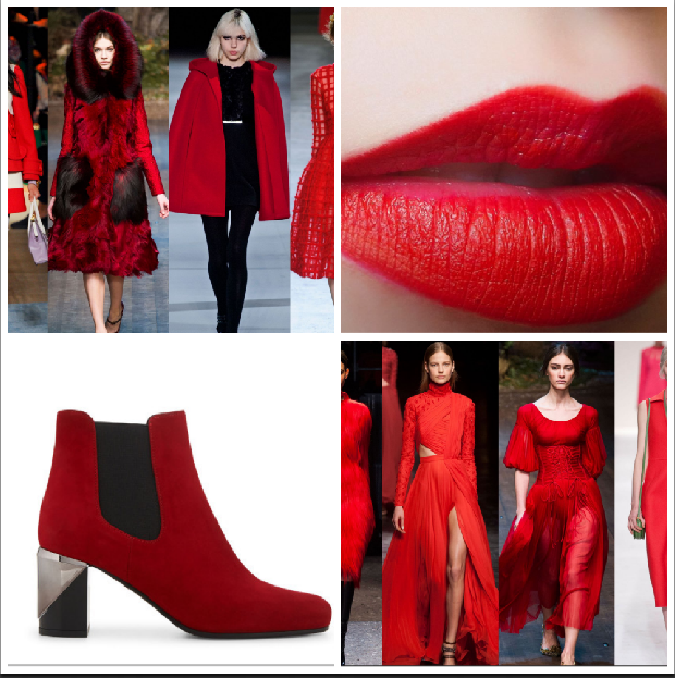 carre fashion rouge