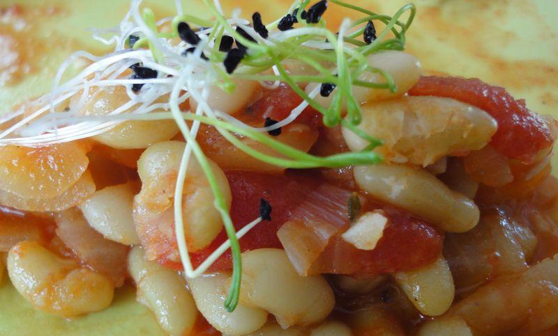 Flageolets la compot e d 39 ail de tomate et d 39 oignons - Cuisiner des flageolets ...