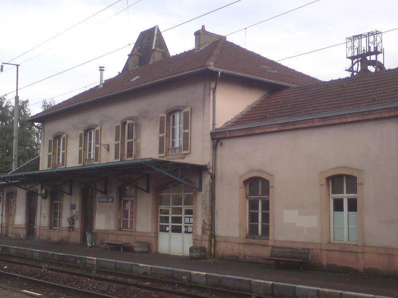Hayange (Moselle) côté voies