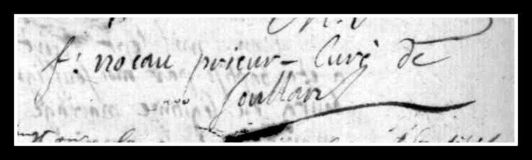 Noeau François - signature