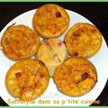 Mini puddings tomates- groseilles