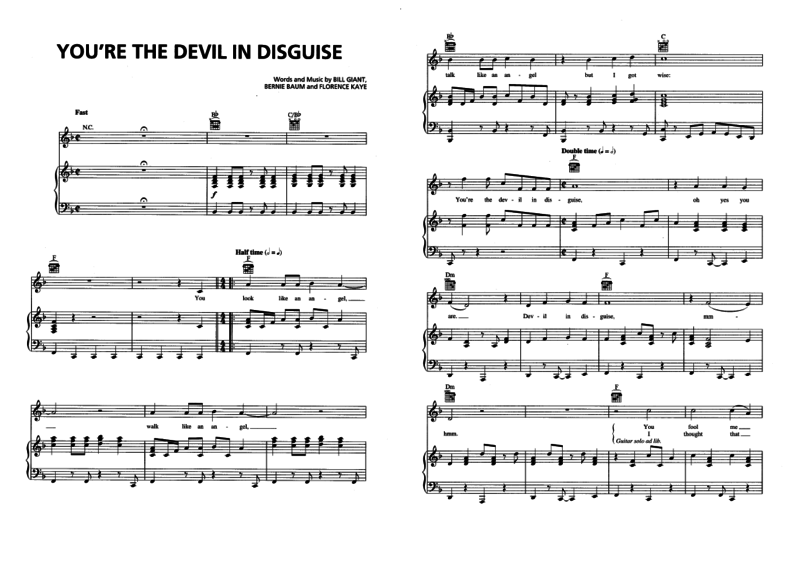 You're the devil in disguise 01