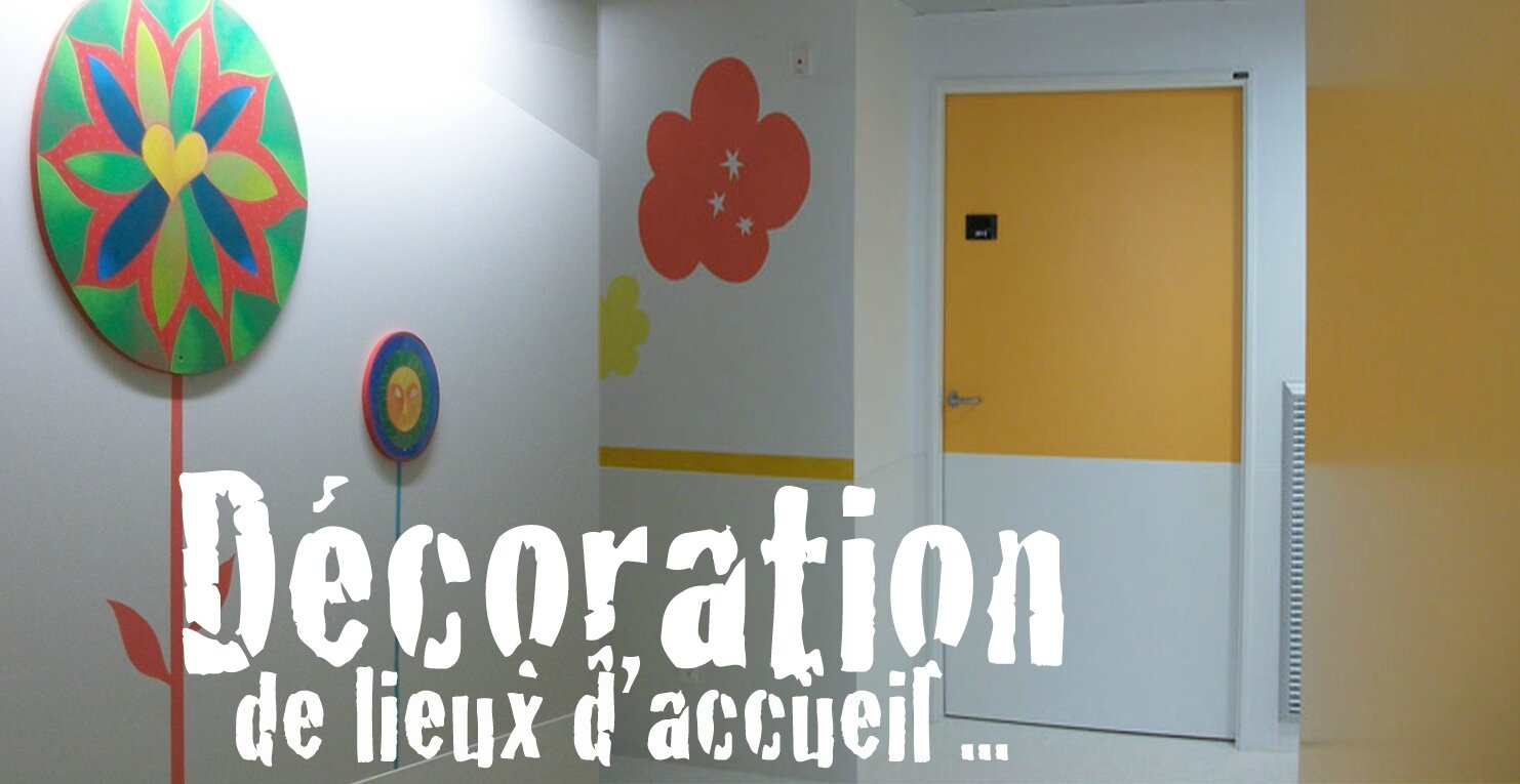 Great decoration de couloir fresque tableau porte with for Tableau pour couloir