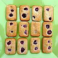 Financiers framboises