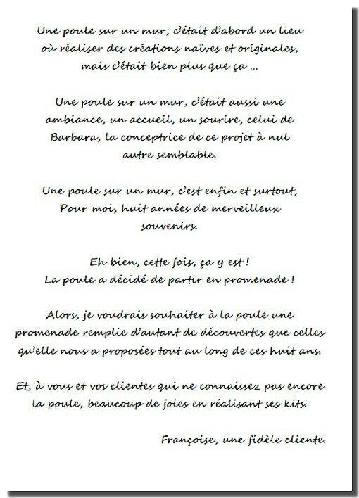 Texte de Francoise 1