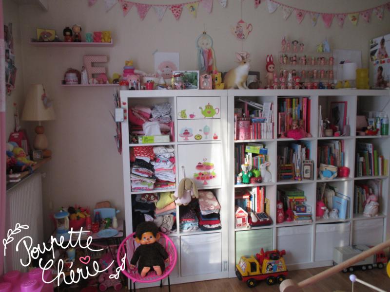 Chambre fille rose kawaii 10