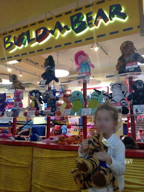 Londres en famille voyage voyager séjour Angleterre maman boucle d'or build a bear