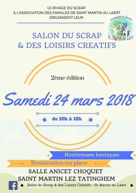Affiche Salon 2018 Saint Martin lez Tatinghem