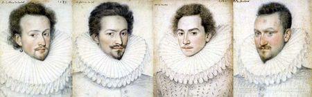 Fraises du début des années 1580