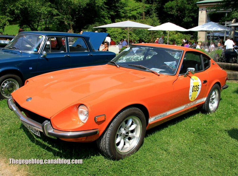 Datsun 240 Z de 1970 (37ème Internationales Oldtimer Meeting de Baden-Baden) 01