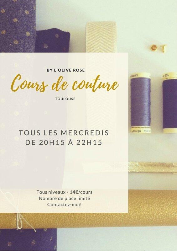 Cours de couture-blog