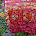 Gilet mi-crochet mi-tricot: notre rayon de soleil