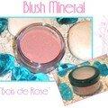 Blush mineral bois de rose : maquillage fait maison !!!