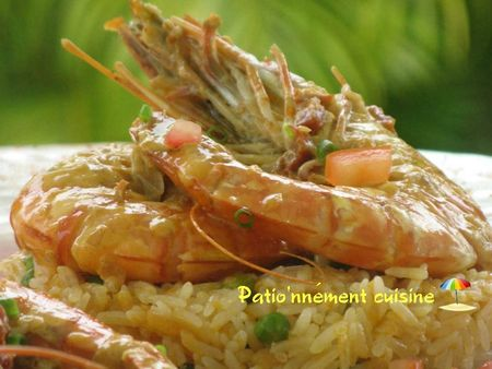 gambas - pati'onnement cuisine