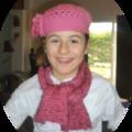 Le bonnet et l'echarpe de Clea