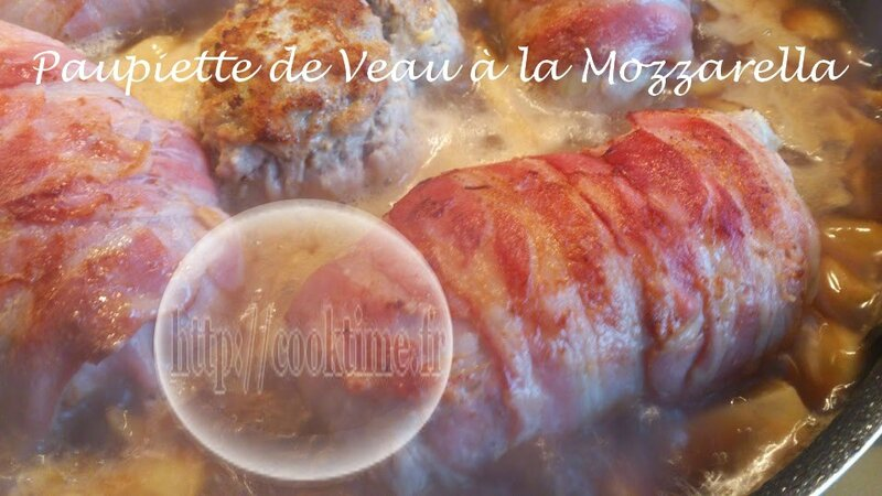 Paupiette de veau à la Mozzarella 4