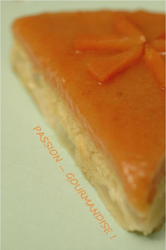 Gateau compote coing