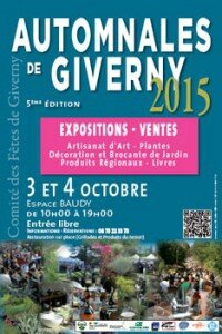 Clochetta aux Automnales de Giverny
