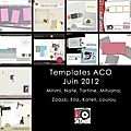 Blog train des templates