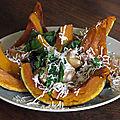 Potiron rôti et ricotta salata