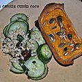 Tartelette carotte cumin coco