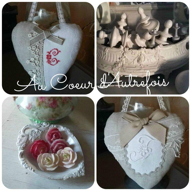Coeur blanc et Lin S