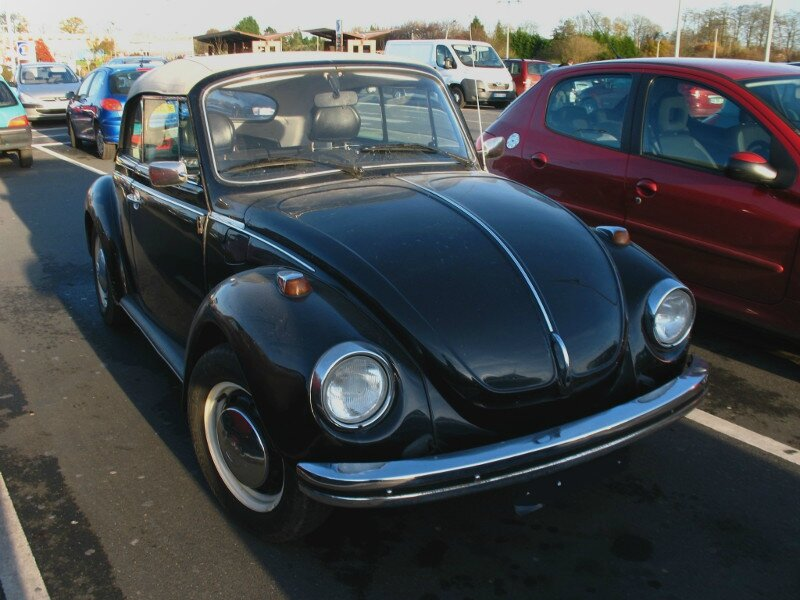coccinelle cabriolet 1980
