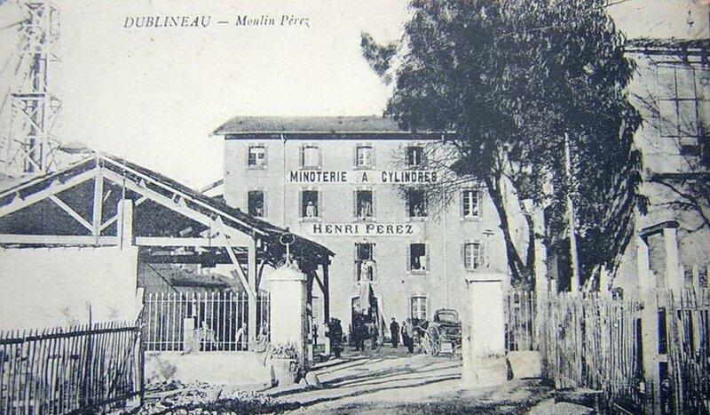 Dublineau Le Moulin à cylindre Henri Perez