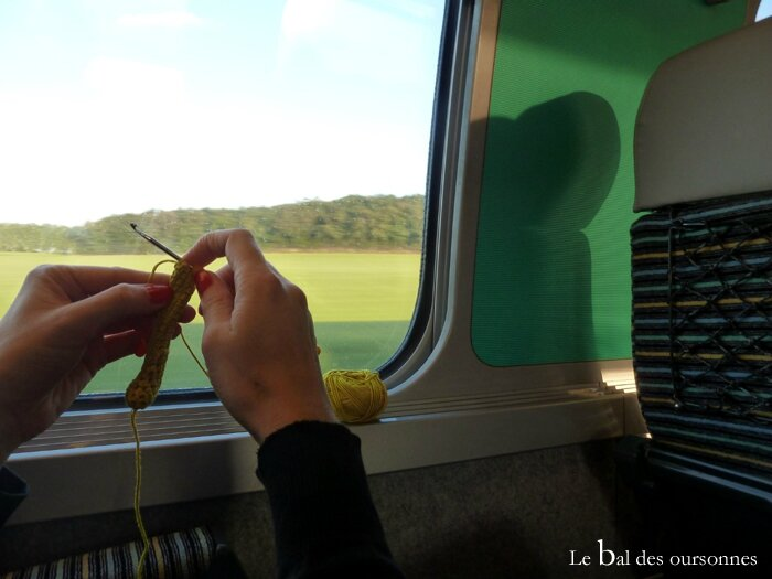 55 Train crochet paris