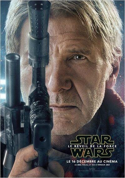 Harrison Ford dans le rôle de : Han Solo