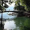 Annecy, le pont des Amours (74)