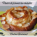 Paniers de pommes aux amandes