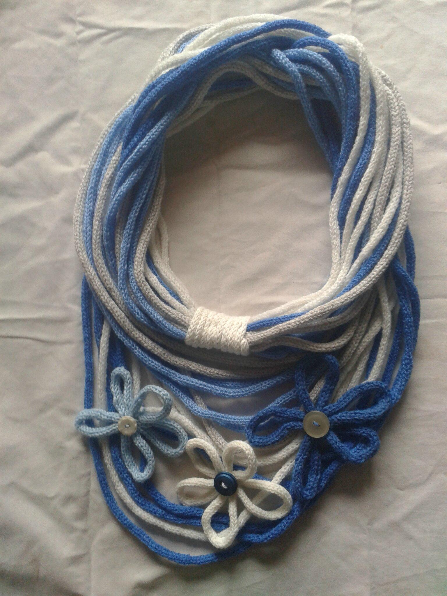 comment tricoter un snood avec un tricotin