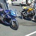 les deus motos de l'équipage 68