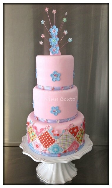 Patchwork Nina Couto wedding cake