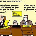 Les aléas du management . .
